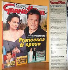 GRAND HOTEL - ANNO LVIII - N. 4 - 24 GENNAIO 2003 - CLAUDIO AMENDOLA E NERI
