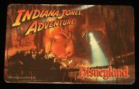 Disneyland ID Card 1996 Indiana Jones Temple of the Forbidden Eye Disney Lucas