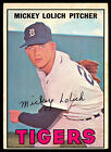 1967 TOPPS OPC O PEE CHEE BASEBALL #88 MICKEY LOLICH EX+ DETROIT TIGERS CARD