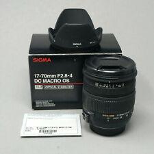 Sigma 17-70mm F2.8-4 DC MACRO OS HSM Lens for Nikon