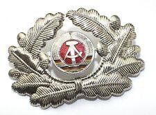 GENUINE NVA  DDR EAST GERMAN ARMY OFFICERS CAP BADGE FREEPOST UK