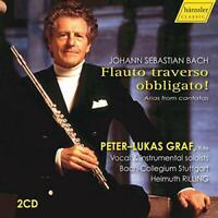 Peter-Lukas Graf - Bach: Flauto Traverso [Peter-Lukas Graf; [CD]