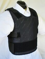 4XL IIIA Lo Vis / Concealable Body Armor Carrier BulletProof Vest with Inserts