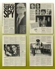 Secrets Of Superspy Rudolf Abel Old Article