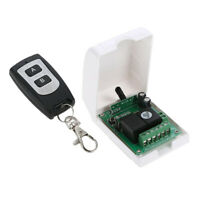 Wireless Relay Remote Control Switch Transmitter with Receiver for Home Use