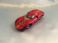 Marklin no. 1810 Porsche 910 red no. 11