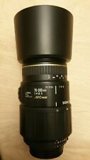 Sigma 70-300 mm f4-5.6 D APO MACRO