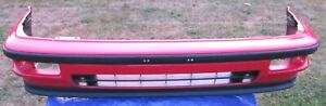 Used OEM 1987 1988 1989 Acura 71101-SD2-960ZZ Front Bumper Face Cover *FLAWS*