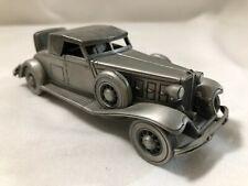 1/43 scale Pewter model Danbury Mint 1932 Chrysler Roadster