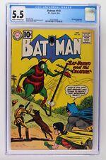 Batman #143 - DC 1961 CGC 5.5 Bat-Hound Appearance. Last 10 cent issue.