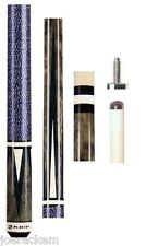 NEW Players C-810 - Grey Stained Pool Cue - FREE Jt caps, Q Wiz & US SHIPPING