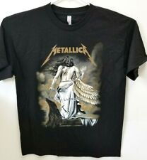 Metallica The Unforgiven Fallen Angel Wings Sz L Tee Shirt Unisex
