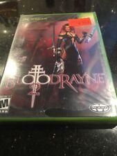 Blood Rayne 2 BloodRayne Xbox Brand New Factory Sealed Ripped Bottom