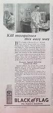 1923 Drapeau Noir Insecticide Kill Moustiques Facile Voies Man Pyjama Annonce