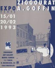 Affiche Sérigraphie  Exposition Ziggourat