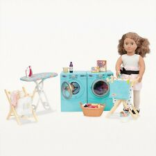 New Our Generation 18 Inch Dolls Laundry Play Set And Accessories