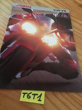 Yamaha YZF-R1 1999 1000 R1 prospectus moto brochure publicité prospekt dépliant