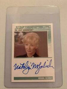 Star Trek - Natalija Nogulich - Admiral Nechayev -  Limited edition signed Card