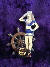 Hard Rock Pin Hamburg Sailor Girl