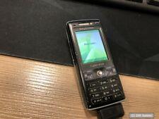 Sony Ericsson K800i Handy Smartphone, Schwarz, gebraucht mit Spuren aber OK