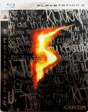 Gioco PS3 Resident Evil 5 - ed. 2 dischi Steelbook Capcom Sony PlayStation 3