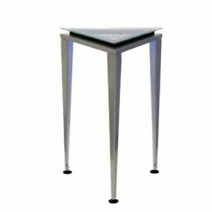 "Modern Adesso Reflections 20"" Tall,  Accent Pedestal Table WK5108S-01"