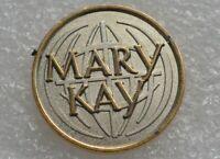 MARY KAY Vintage LOGO TIE TAC PIN PINBACK BADGE ÉPINGLETTE