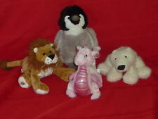 WEBKINZ 4  STUFFED ANIMAL PLUSH WHIMSY DRAGON CARAMEL LION POLAR BEAR PENGUIN H7
