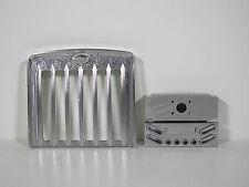 Aluminum Front Engine Grill & Rear Crossmember Guard Tamiya RC 1/14 King Hauler