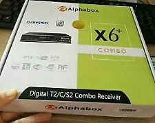 ALPHABOX X6+ COMBO TV DECODER DVB-T2 S2 C MYTV FREEVIEW MY TV MALAYSIA
