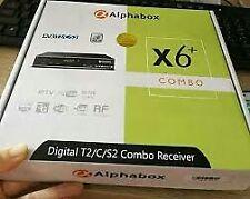 ALPHABOX X6+ COMBO TV DECODER DVB-T2 S2 C MYTV FREEVIEW MY TV MALAYSIA