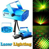 Mini LED Laser Projector Light Club DJ Disco Bar House Stage Lighting Xmas Party