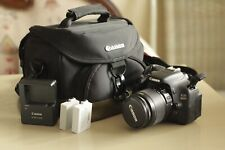 Canon EOS 600D/Rebel T3i 18.0 MP SLR-Digitalkamera - Schwarz (Kit mit EF-S...