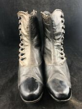 Antique Victorian Womens Shoes Very Good Condition