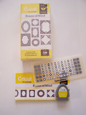 """Cricut Cartridge """"Frame Of Mind"""" 2001420-50 Art Images - Complete! -Unknown Link"""