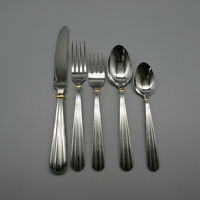 Oneida Stainless GOLDEN UNITY 5pc Place Setting USA