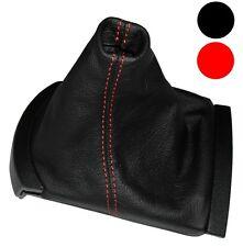 Soufflet de levier vitesse noir CUIR coutures rouges pour Seat Ibiza 2002-2008