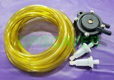 Go Cart Kart Racing Walbro Type Gx200 212 Clone Fuel Pump Hose Filter Kit Yellow