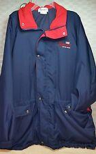 Mannatech USA exclusive licensed logo wear red white blue jacket adult XXL