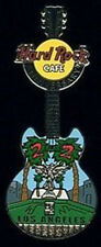 "Hard Rock Cafe LOS ANGELES 2004 22nd ANNIVERSARY PIN Guitar ""22"" on Palm Trees"