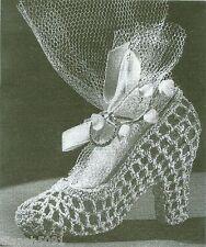 Shoe Crochet Pattern Great For Wedding Shower Favor