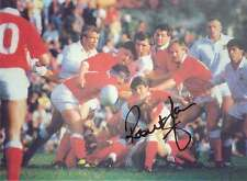 ROBERT JONES TREBANOS, SWANSEA, WALES & LIONS 7 x 5 SIGNED RUGBY COLOUR PHOTO