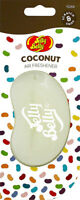 15266 Jelly Belly COCONUT 3D Bean Air Freshener Car (x1) Hanging Gel Type