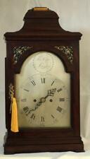 THOMAS CAPE LONDON ANTIQUE ENGLISH VERGE FUSEE 8 DAY MAHOGANY BRACKET CLOCK