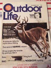 OUTDOOR LIFE HUNTING & FISHING MAGAZINE WHITE TAIL DEER NOVEMBER 1976