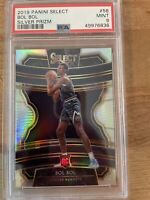 2019-20 Panini Select Bol Bol RC SILVER PRIZM #56 NUGGETS Rookie PSA 9 MINT