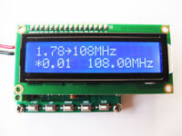 2019 DDS FM 78~108MHz PLL Radio Pulse signal generator 100KHz + 1602 LCD