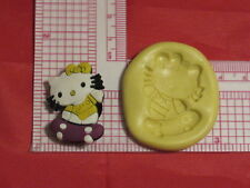 Skateboard Kitty Cat Silicone Mold #73 For Chocolate Candy Resin Fimo Craft