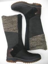 Merrell J42364 Eventyr Cuff Waterproof Leather Snow Winter Boot Black Womens 10