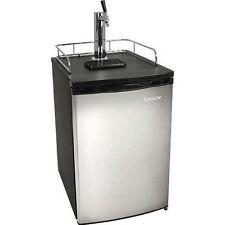 Full Size Stainless Steel Kegerator Fridge, Edgestar Draft Beer Keg Refrigerator